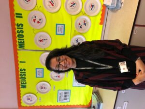 SSAT Leadership Legacy Project place for Head of Biology, Miss Ahmed